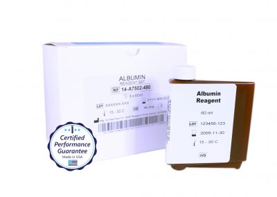 Pointe Albumin Instrument Specific Reagent, Mindray BS-480 Analyzer