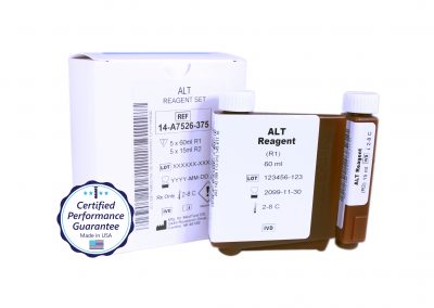 Pointe Alanine Aminotransferase (ALT) Instrument Specific Reagent, Mindray BS-480 Analyzer