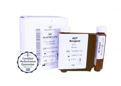 Pointe Aspartate Aminotransferase (AST) Instrument Specific Reagent, Mindray BS-480 Analyzer