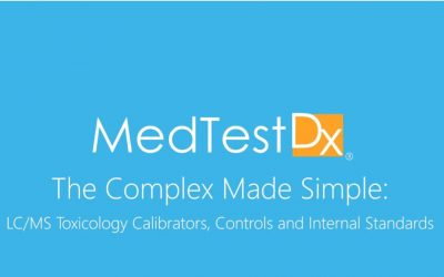 The Complex Made Simple: LC/MS Toxicology Calibrators, Controls and Internal Standards
